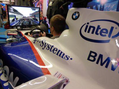 Voiture simulator : On utilise un véhicule réel dans les mondes virtuels