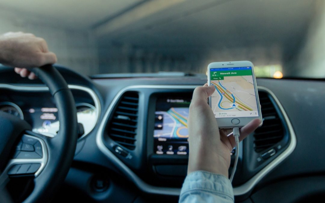 navigation sur voiture