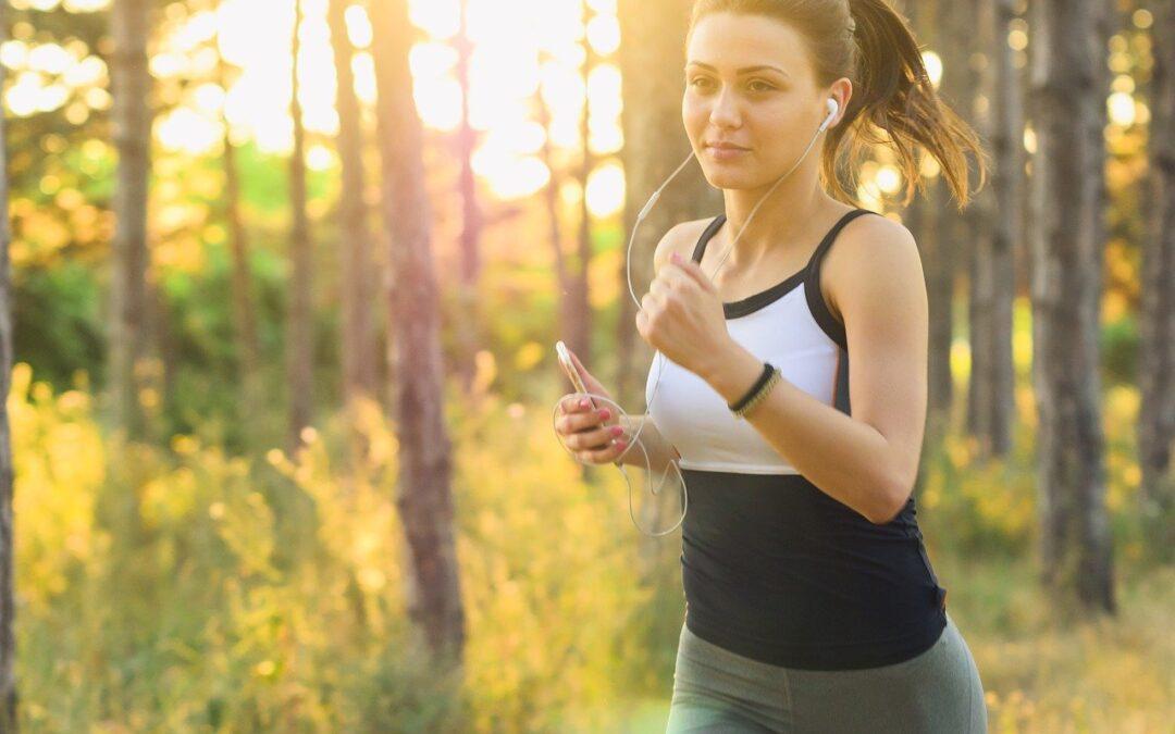 exercice avec une ecouteur