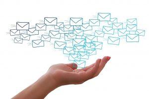 organisation boite email