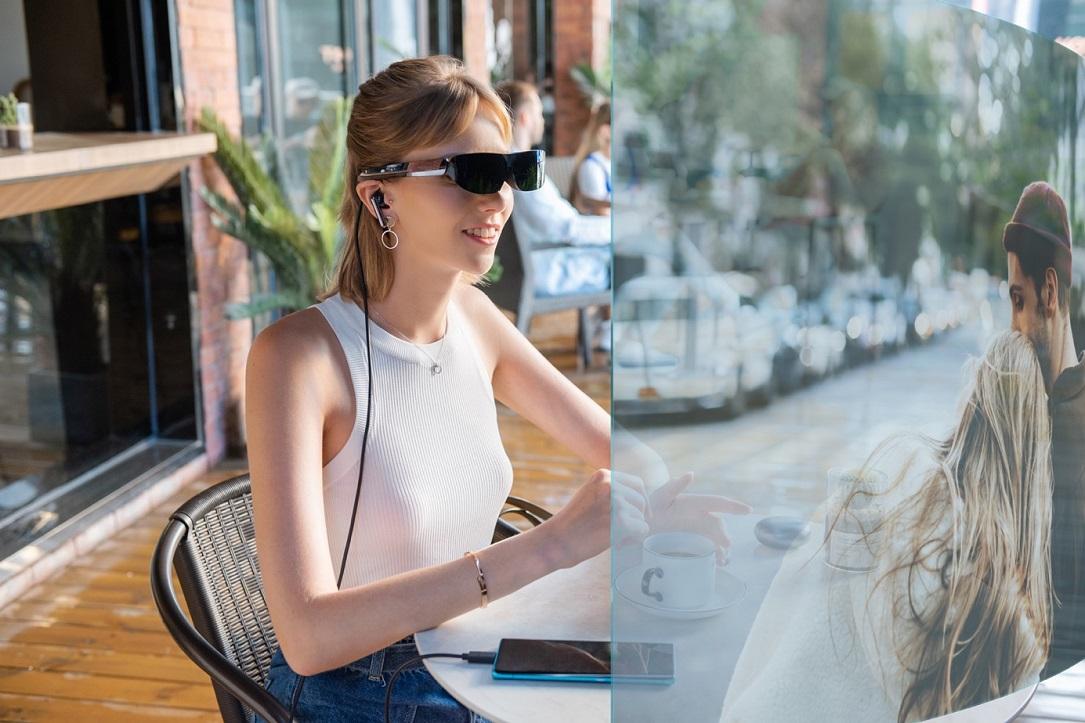 utilisation lunette connecté